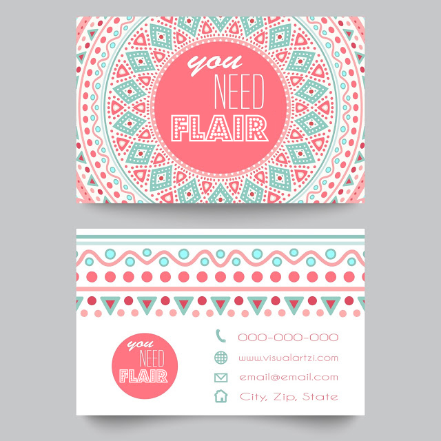 promote yourself with business cards, add flare to your business cards to creatively promote your artwork, business card templates, Visualartzi