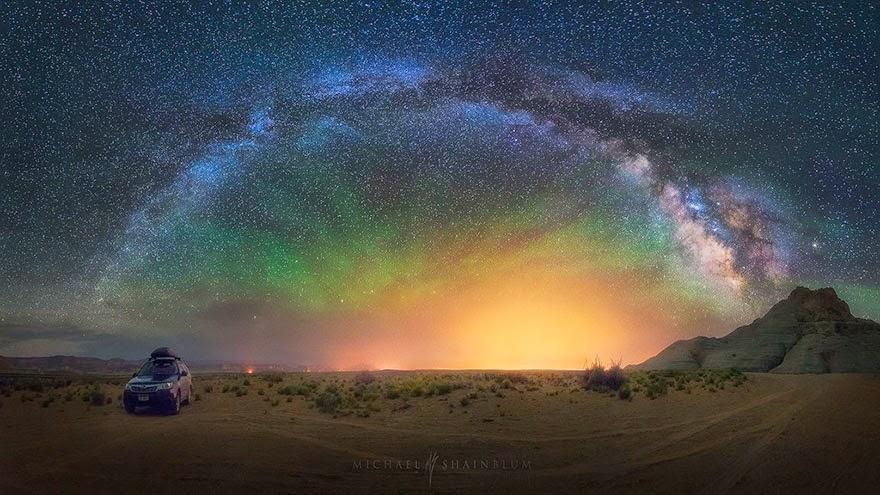 Spectacular Photos Of The Night Sky Around The World