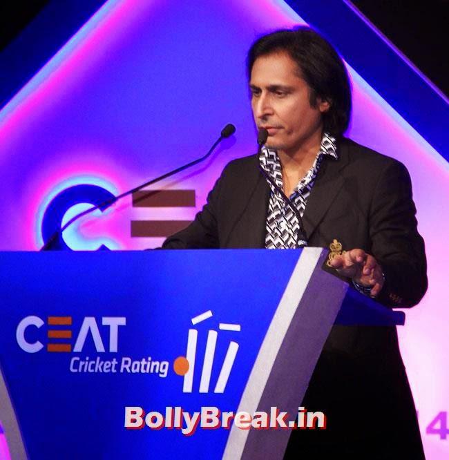 Rameez Raja, Chitrangada Singh performed at CEAT Cricket Ratings Awards 2014