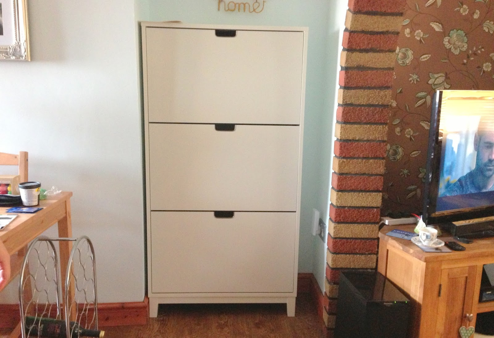 home ikea st ll shoe cabinet a slice of my life wales. Black Bedroom Furniture Sets. Home Design Ideas