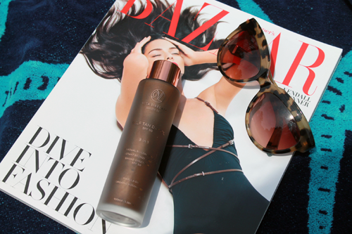 Vita Liberata Self Tan Dry Oil, Zac Posen Sunglasses, Bazaar Magazine