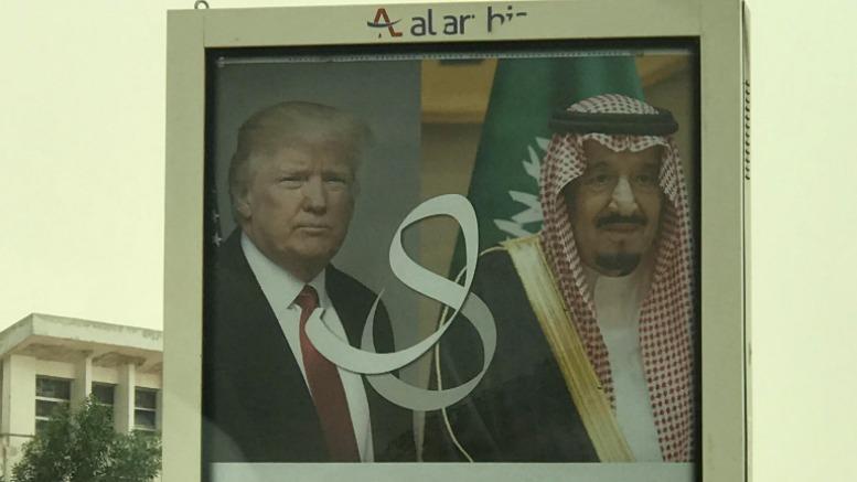 Trump pidió a los árabes no dar refugio al terrorismo