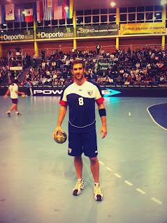 Estadounidense entrenando con Ademar | Mundo Handball