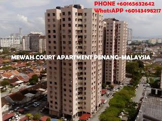 gambar apartemen mewah court penang malaysia