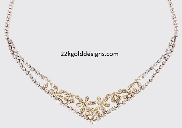 simple heart diamond necklace designs wwwimgkidcom