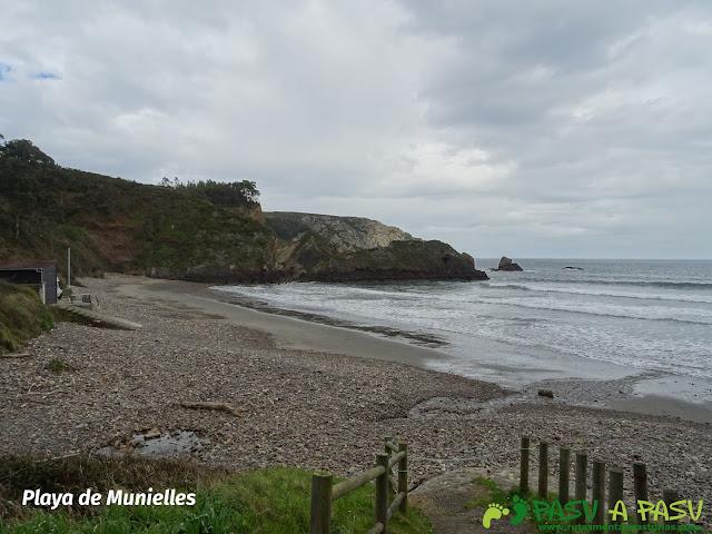 Playa de Munielles, Castrillón