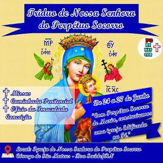 Revitalização da festa de Nossa Senhora do Perpétuo Socorro