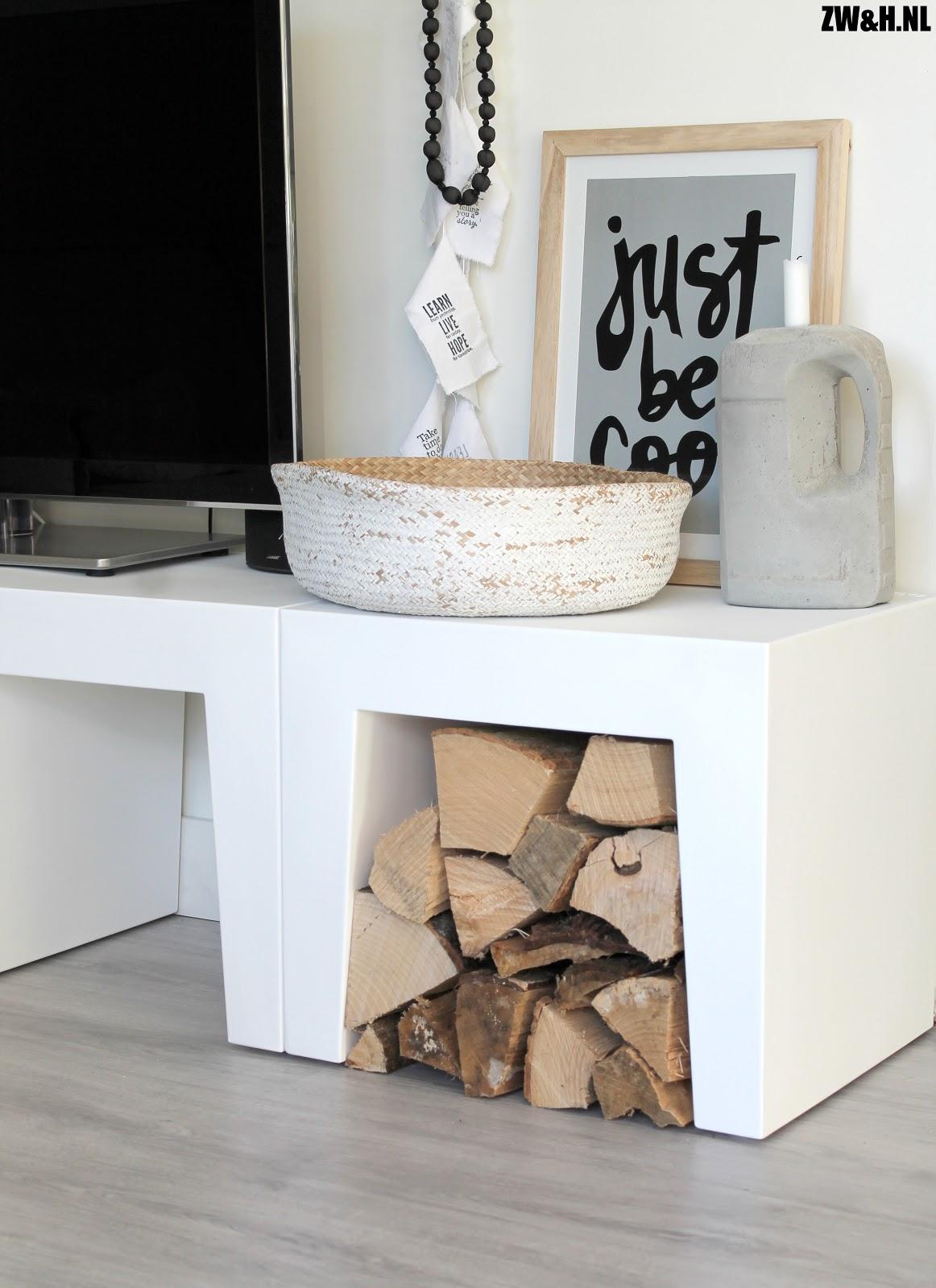 stoer gestyled onze nieuwe tv meubel met de concrete. Black Bedroom Furniture Sets. Home Design Ideas