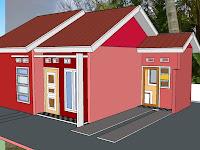 Contoh Model Denah Rumah