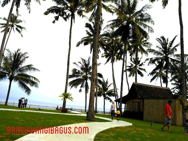 Wisata pantai Solong Banyuwangi.