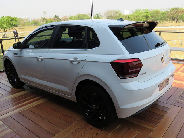 VW Polo 2018 Highline Branco