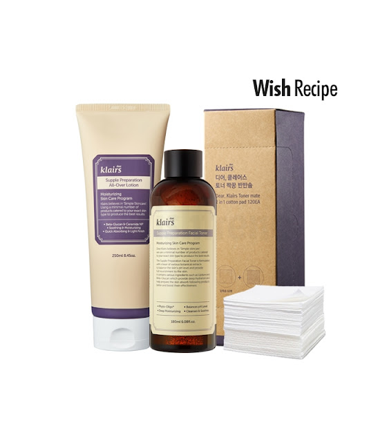 Wish recipe by Wishtrend