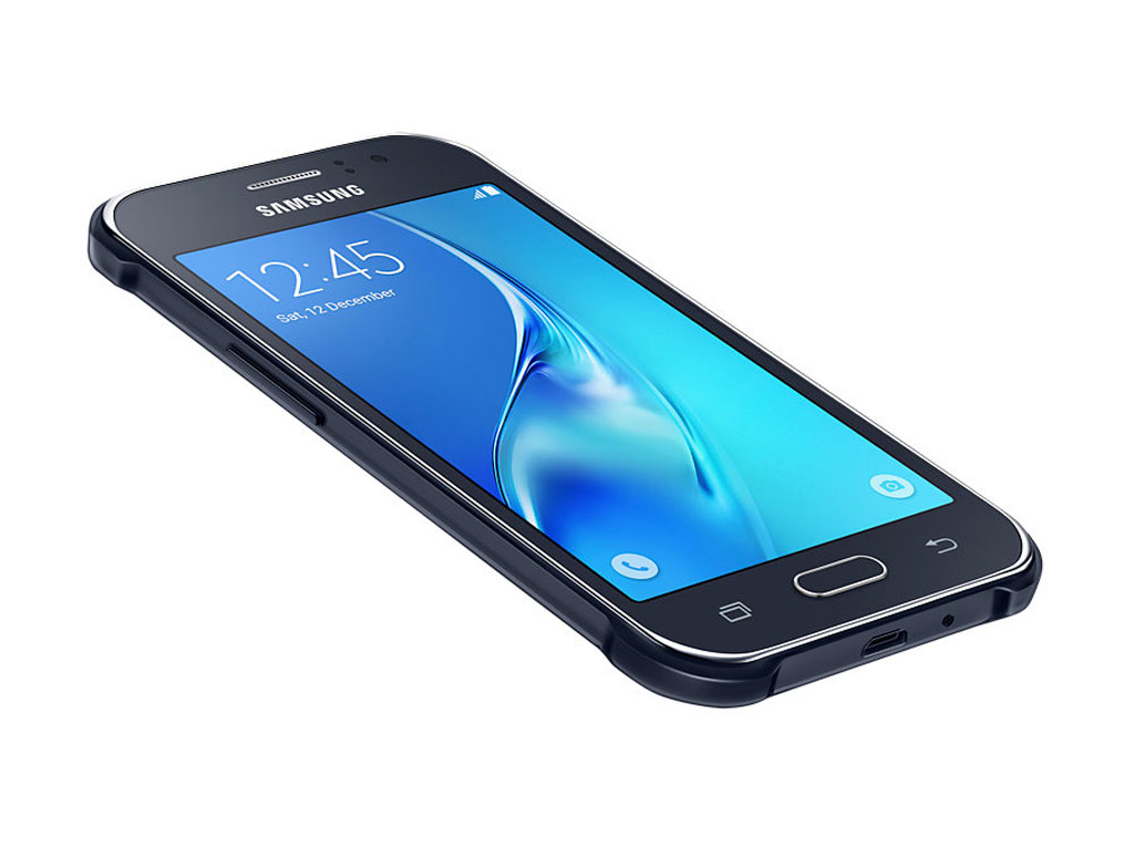 Samsung Galaxy J1 Ace Neo Front and Side View