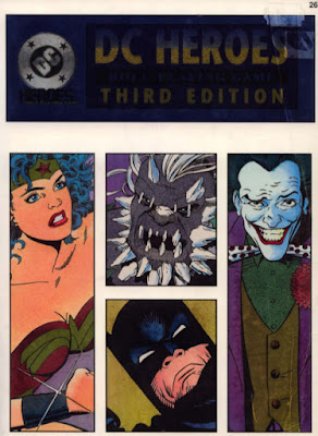 DC Heroes Roleplaying Game 3ed