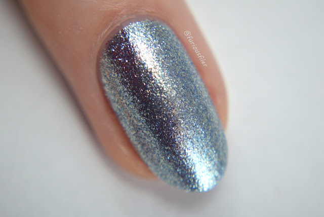 cirque idyllic macro swatch blue metallic furious filer