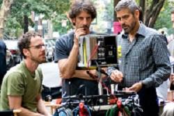 George Clooney y los hermanos Coen