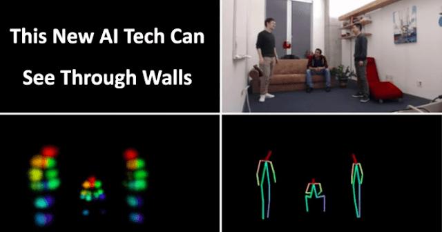 Esta nova tecnologia AI pode ver através das paredes e acompanhar o movimento das pessoas
