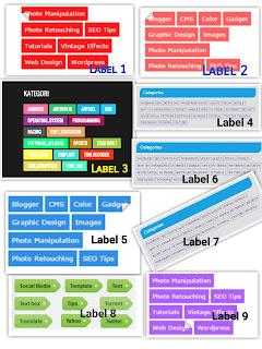 Membuat Label blogspot keren dengan kode css