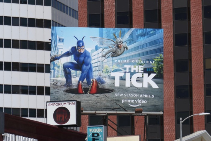The Tick season 2 billboard