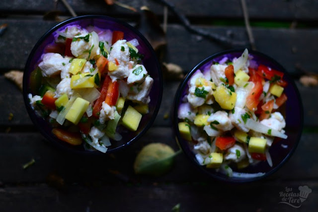 Ceviche de perca con mango tererecetas 04