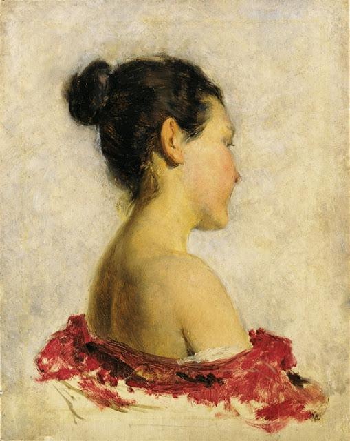 Franz Rumpler - Девушка с оголенными плечами