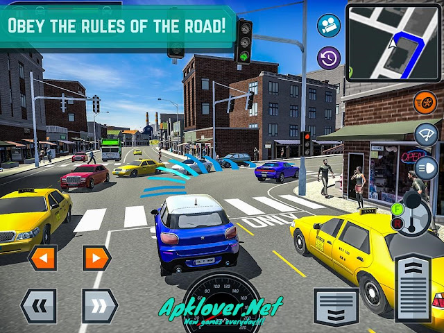 Car Driving School Simulator MOD APK unlimited money & premium