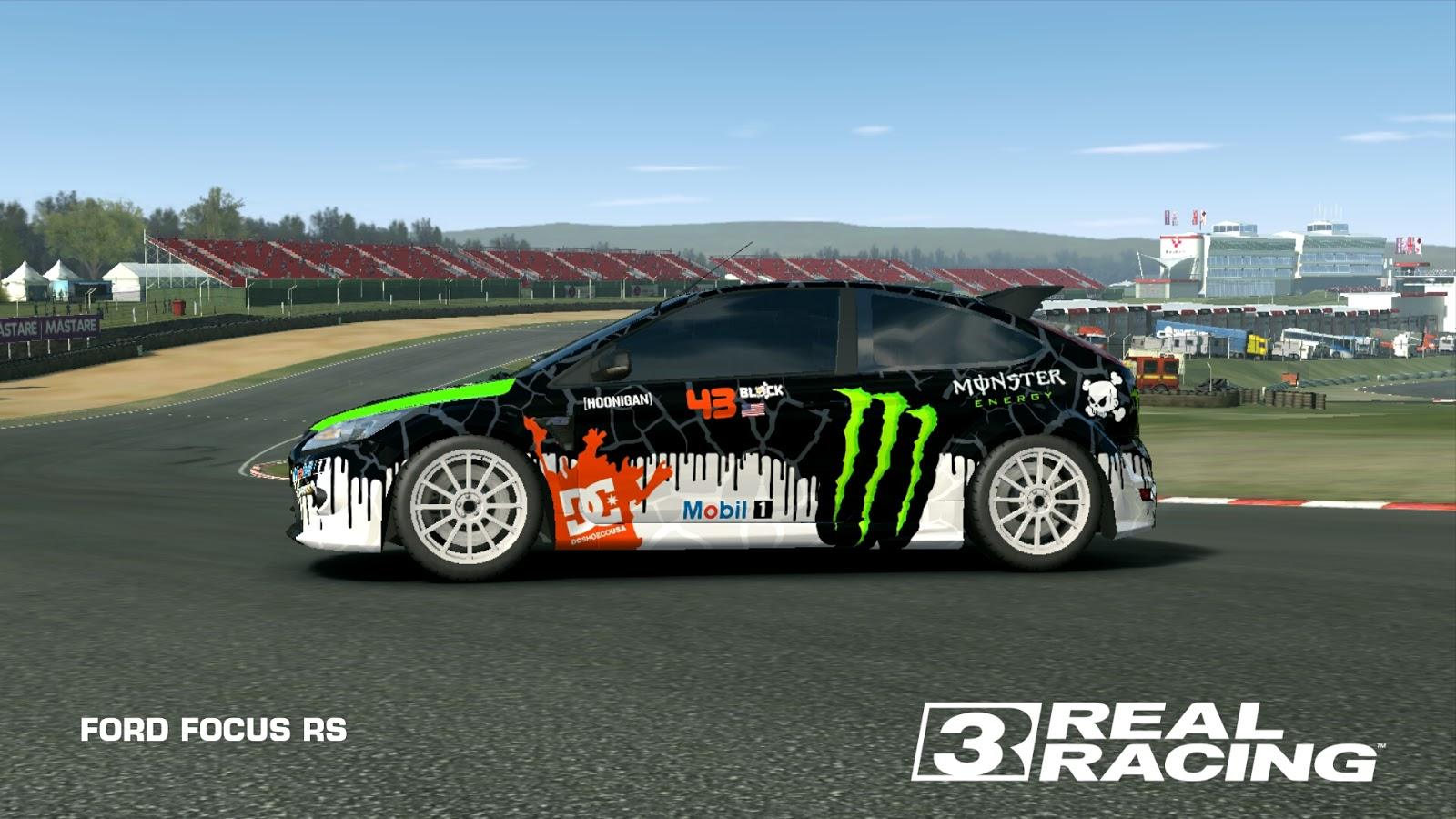 Kali ini saya akan share livery ford focus rs real racing 3 oke langsung saja ini dia beberapa preview nya