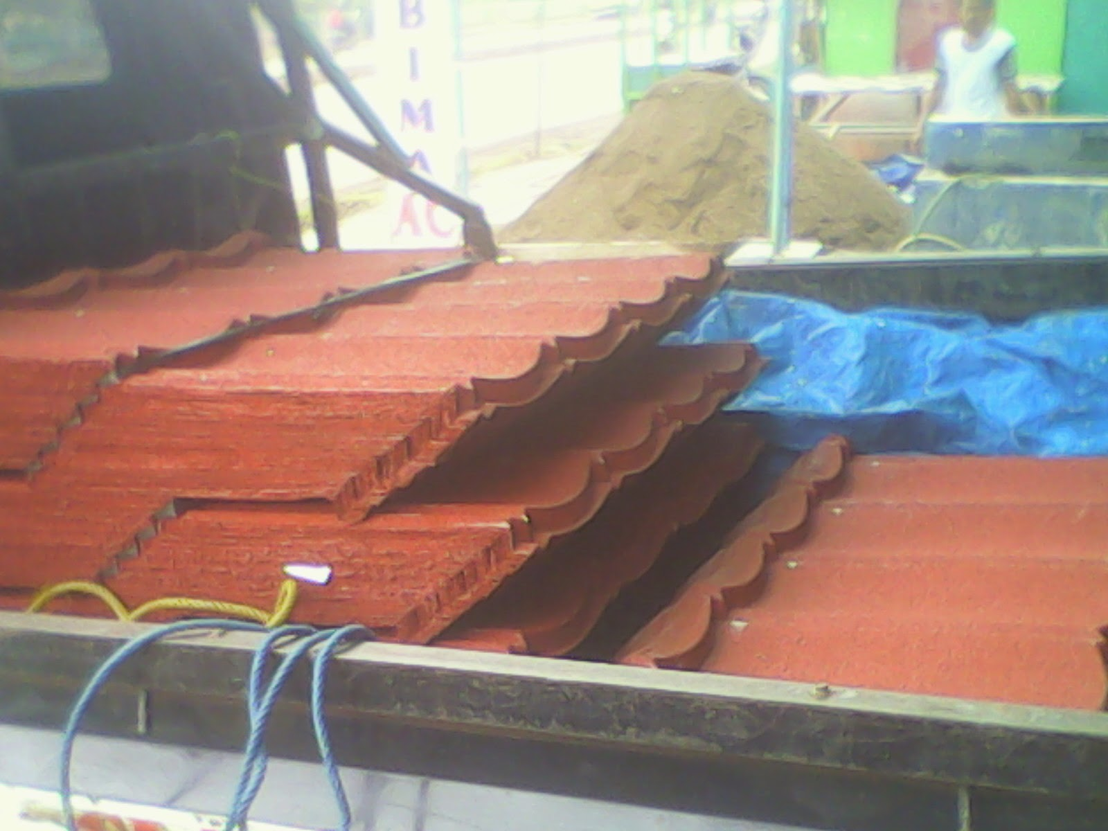 harga atap baja ringan di indramayu genteng metal dan rangka murah