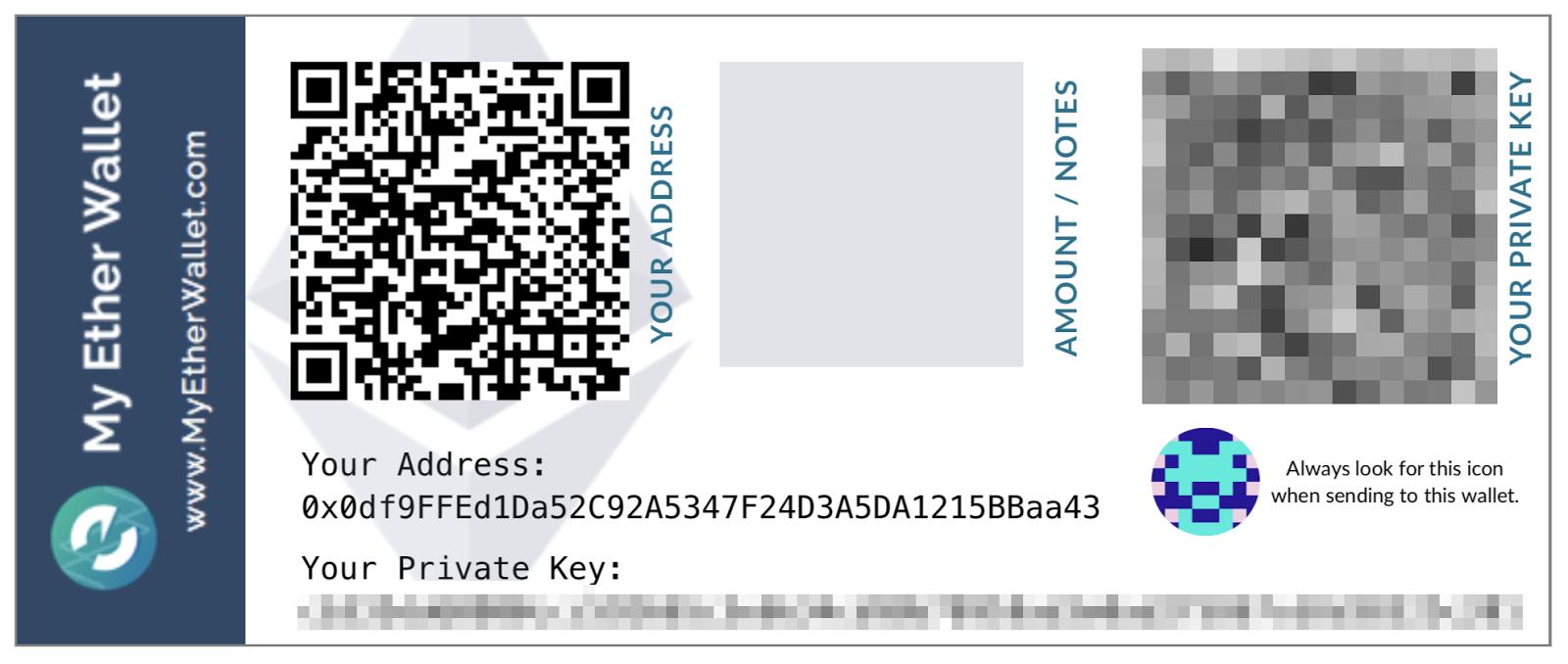 Com'è fatta una chiave pubblica Ethereum