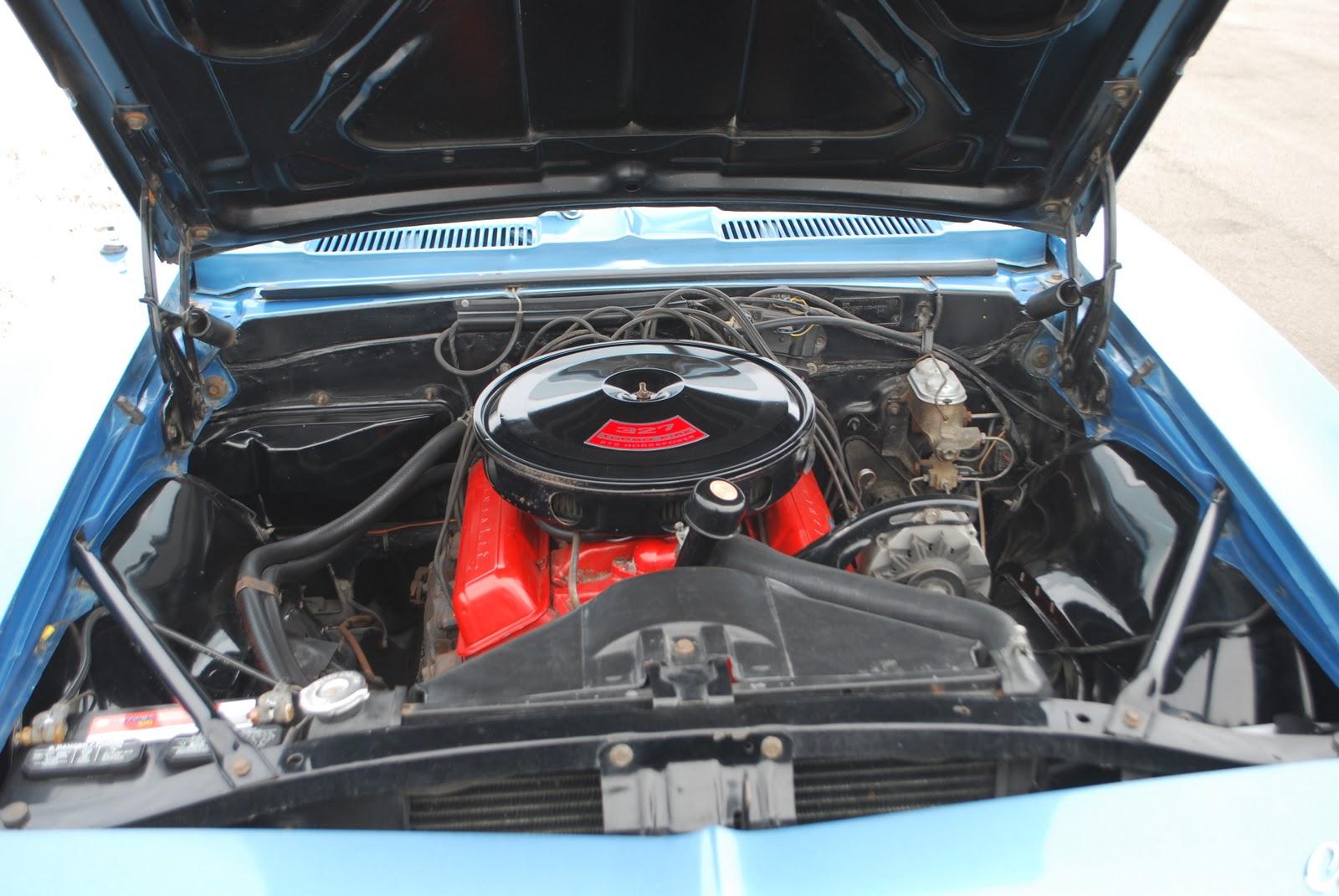 L30/M20 1967 Camaro: The 327