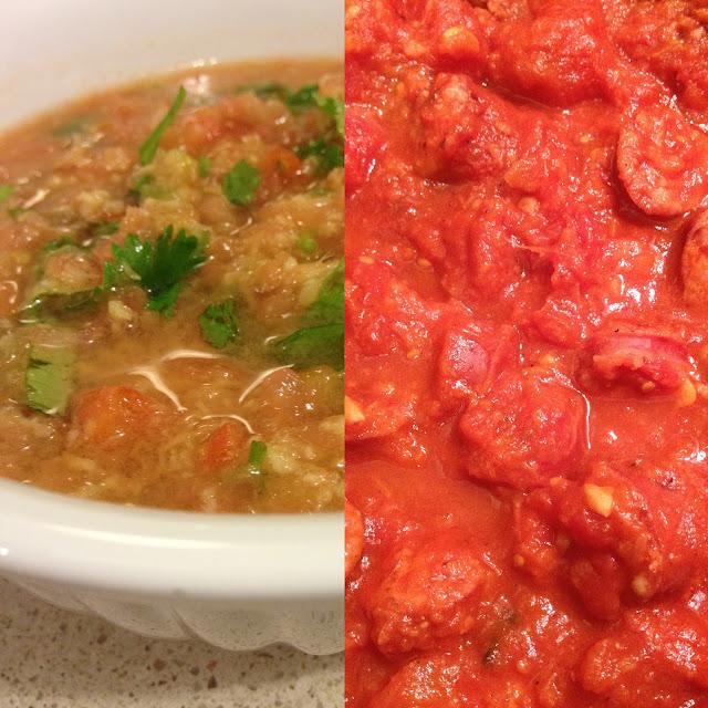 Sweet Kwisine, saucisses fumées, rougail,  tomates, gingembre,coriandre, piment, cuisine réunionnaise, cuisine antillaise