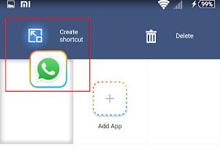 cara instal 2 Whatsapp di 1smartphone