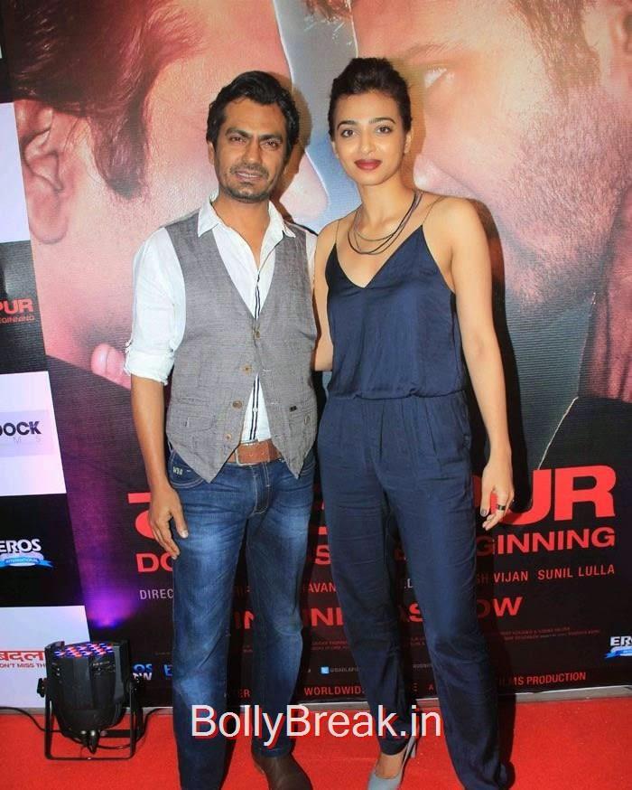 Nawazuddin Siddiqui, Radhika Apte, Hot Pics of Sonakshi Sinha, Shraddha Kapoor At 'Badlapur' Success Bash