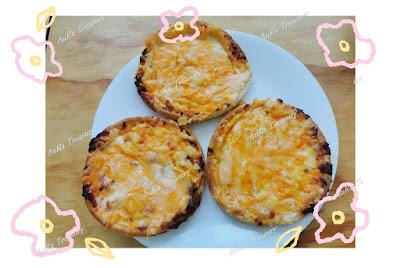 Air Fry Recipe Mini Pizza