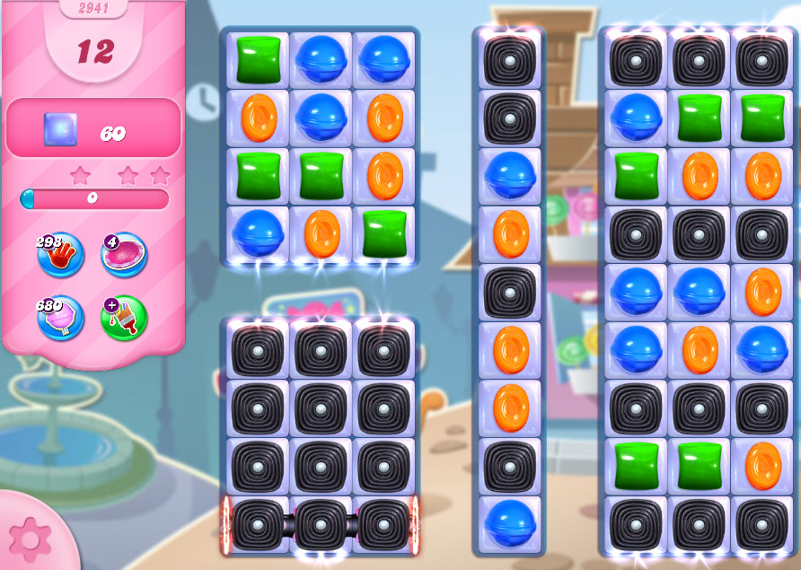 Candy Crush Saga level 2941