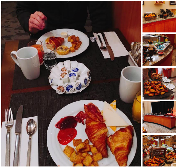 Hilton Québec City Allegro Restaurant breakfast