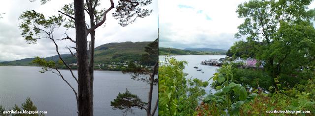 Viaje a Escocia día 5 Vistas desde la famosa mitad de la colina y Portree desde otro punto