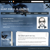 Разработка сайта The Hunt for D. B. Cooper