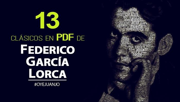 13 Clásicos De Federico García Lorca En Pdf Gratis Oye