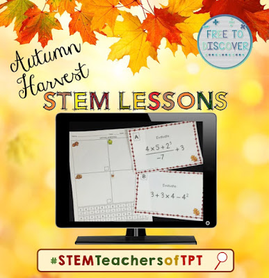 Search #STEMTeachersofTpT on Teachers Pay Teachers and your favorite social media sites to get some fresh ideas for your classes!