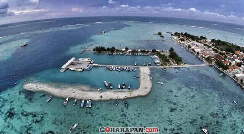 pulau harapan destinasi wisata bahari