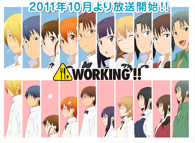 Working anime 2011 second season