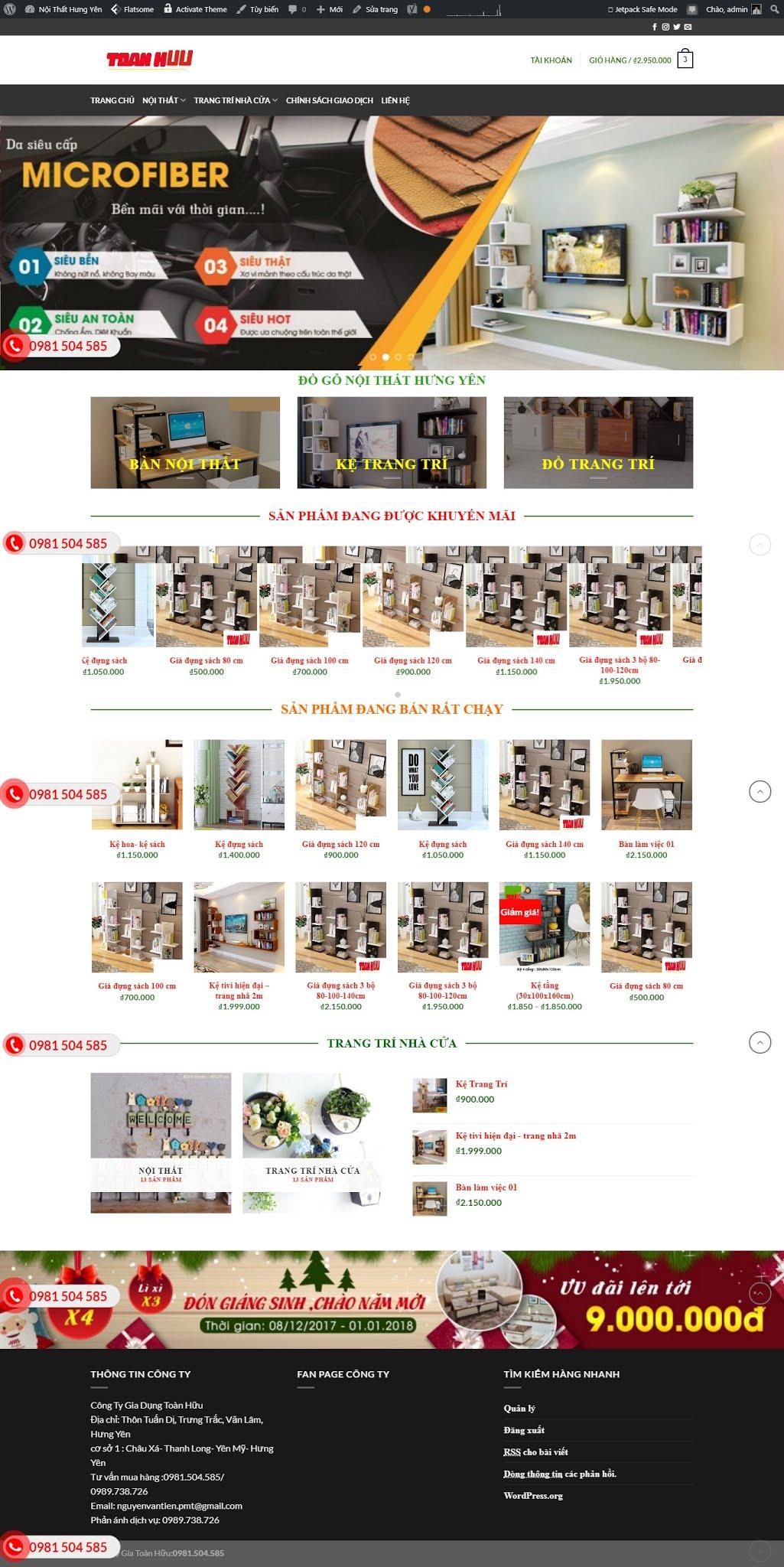 BÁN HÀNG 092 - shop nội thất