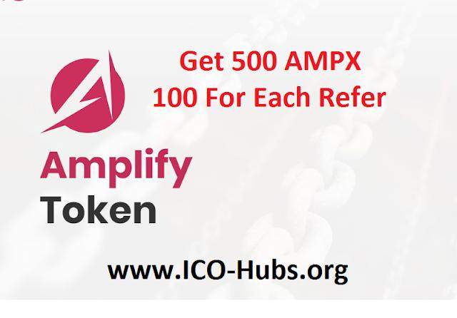 pre-registrations in Aplify Exchange will get 500 AMPX