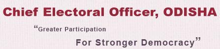 CEO ODISHA New Voter Registration