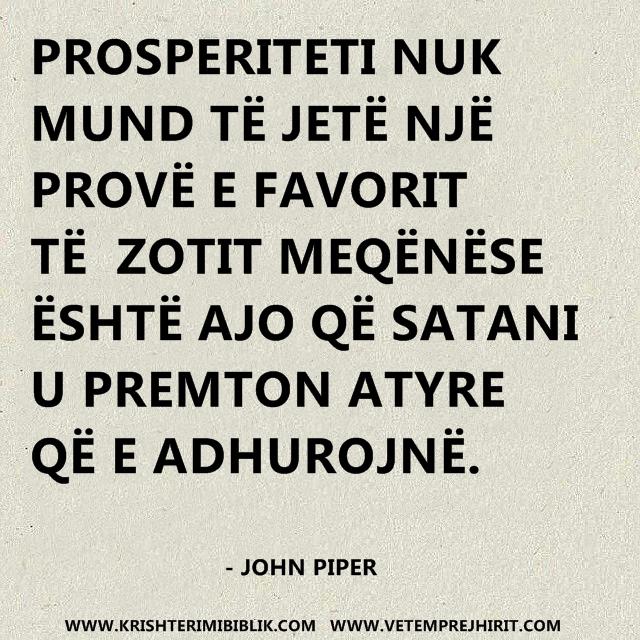 Ungjilli i prosperitetit, predikime shqip,