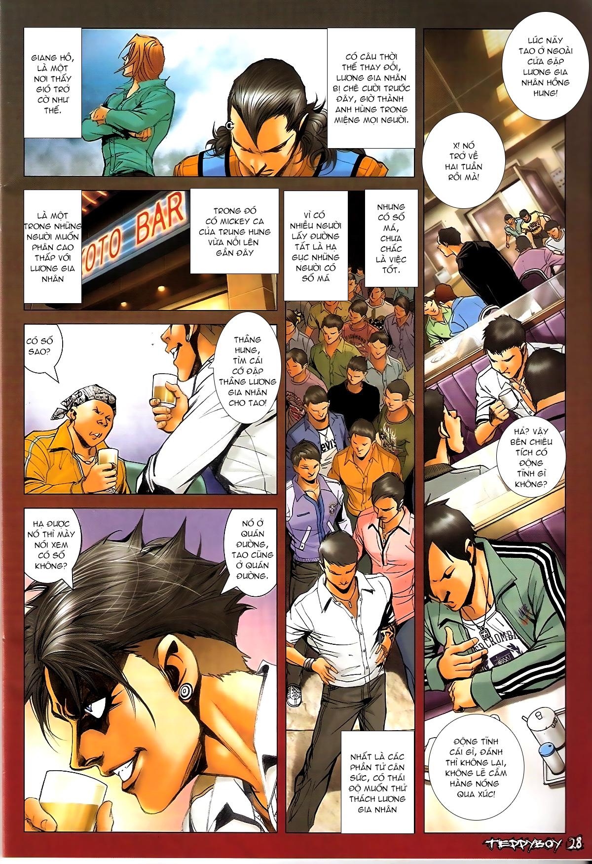 Người Trong Giang Hồ - Chapter 1344: Quá khứ Nam Ca 2 - Pic 25