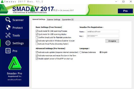 Antivirus SMADAV versi terbaru