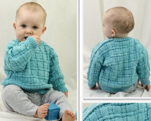 Daniel's Pullover - Free Pattern