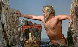 La escena de Tritón de Jasón y los argonautas